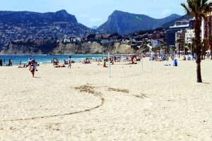 Beach in Calpe